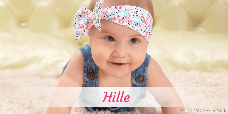 Name Hille als Bild