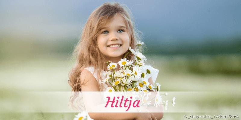 Name Hiltja als Bild
