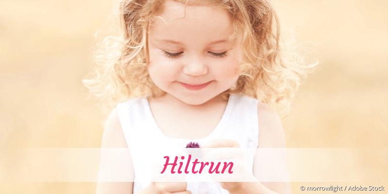 Name Hiltrun als Bild