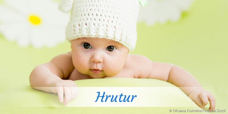 Name Hrutur als Bild