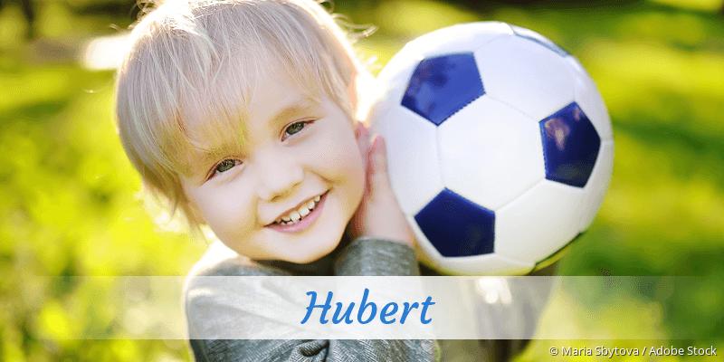 Name Hubert als Bild