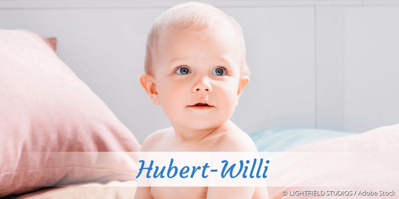 Name Hubert-Willi als Bild