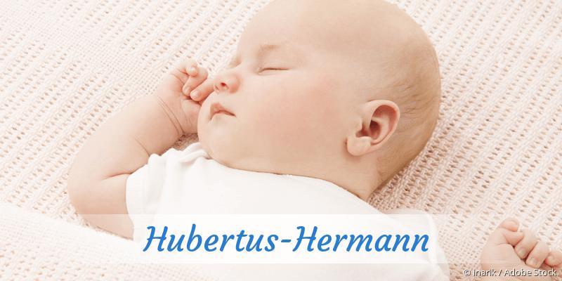 Name Hubertus-Hermann als Bild
