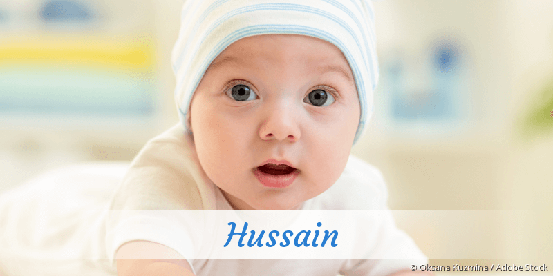 Name Hussain als Bild
