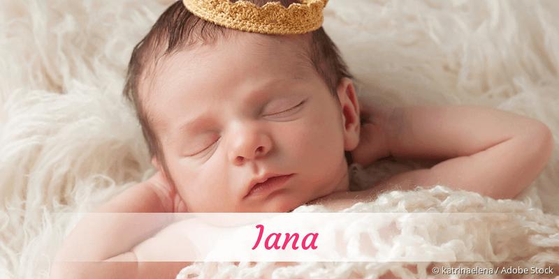 Name Iana als Bild