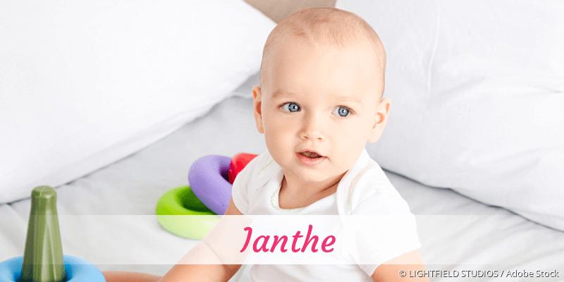 Name Ianthe als Bild