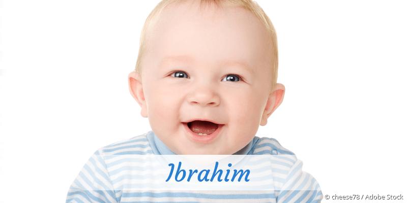Name Ibrahim als Bild