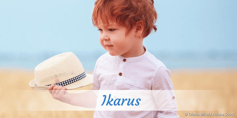 Name Ikarus als Bild