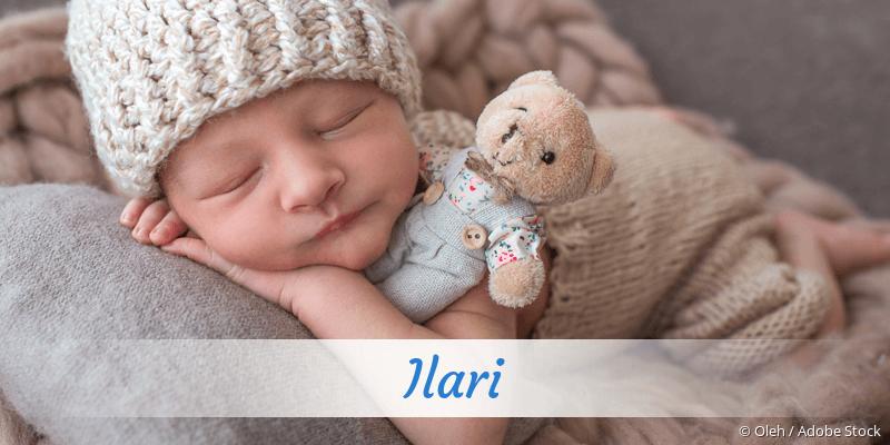 Name Ilari als Bild