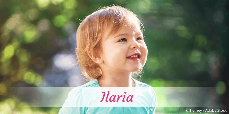Name Ilaria als Bild