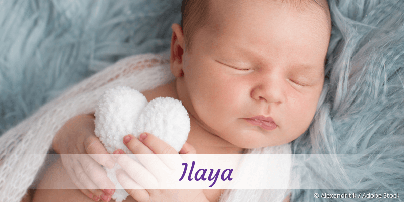 Name Ilaya als Bild