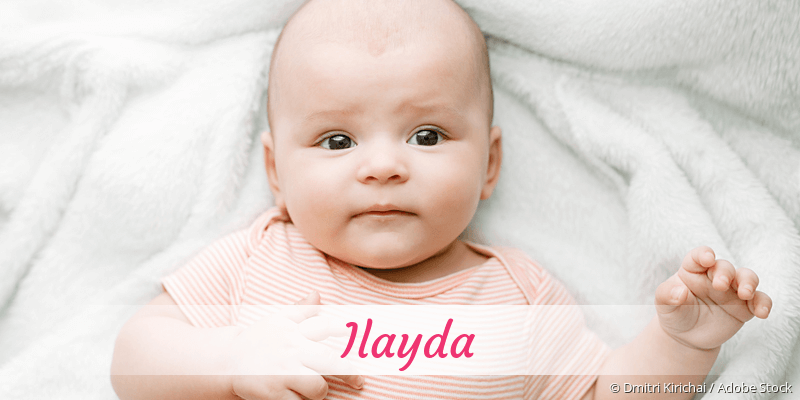 Name Ilayda als Bild