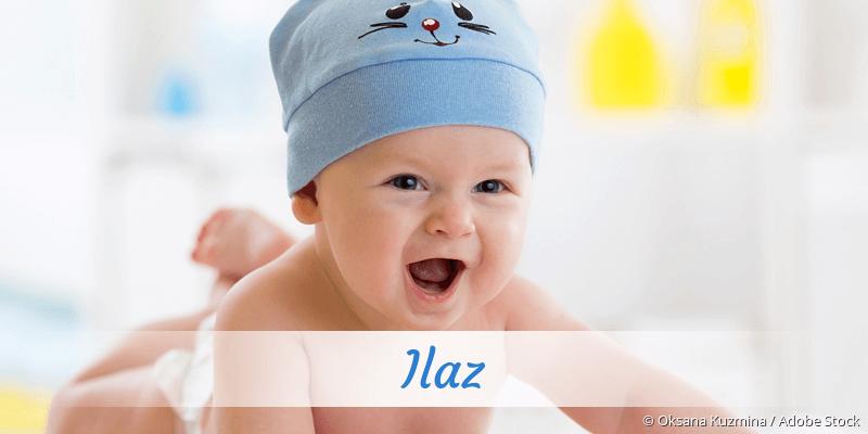 Name Ilaz als Bild