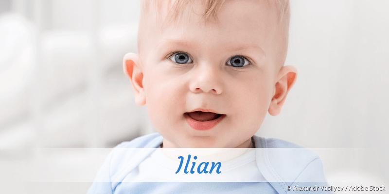 Name Ilian als Bild