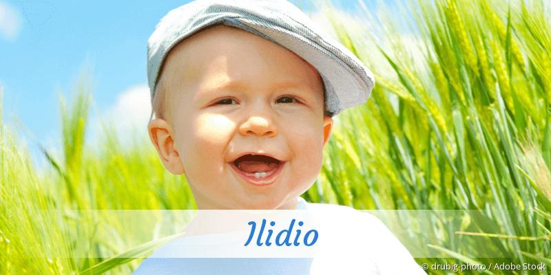 Name Ilidio als Bild