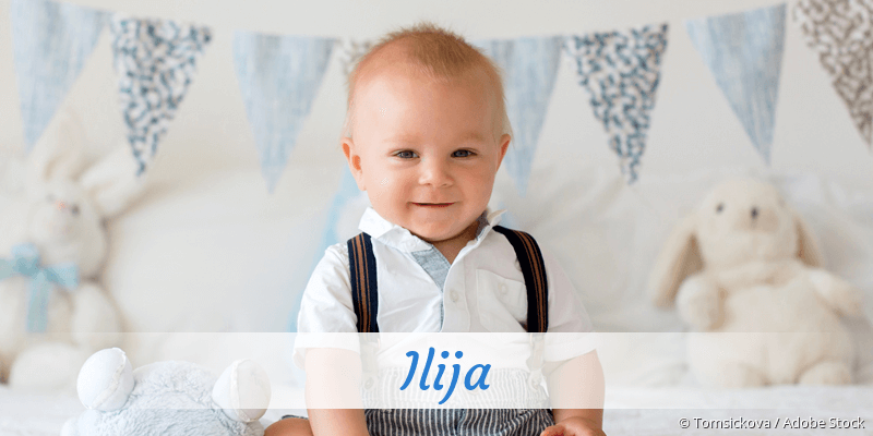 Name Ilija als Bild