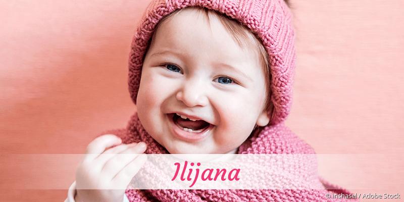 Name Ilijana als Bild