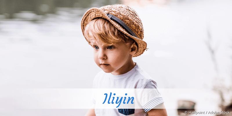 Name Iliyin als Bild