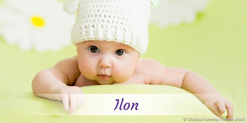 Name Ilon als Bild