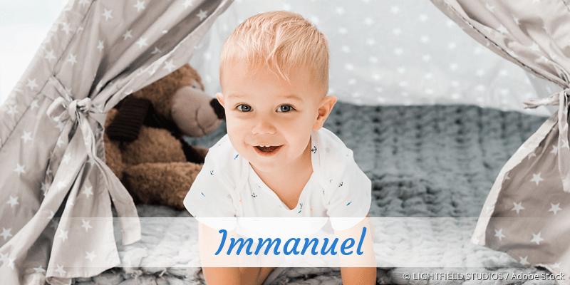 Name Immanuel als Bild