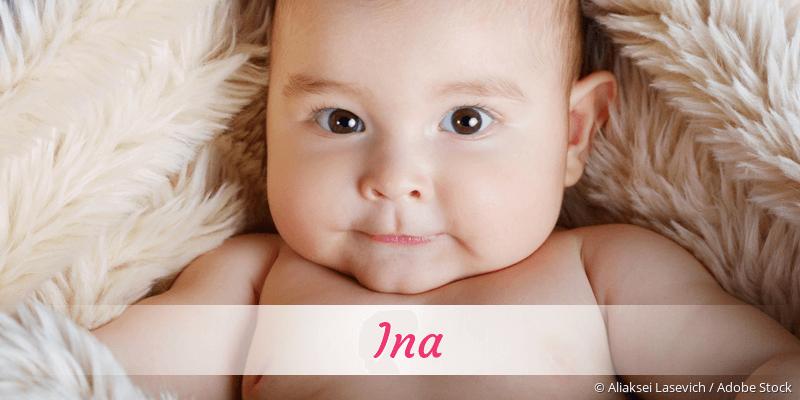 Name Ina als Bild