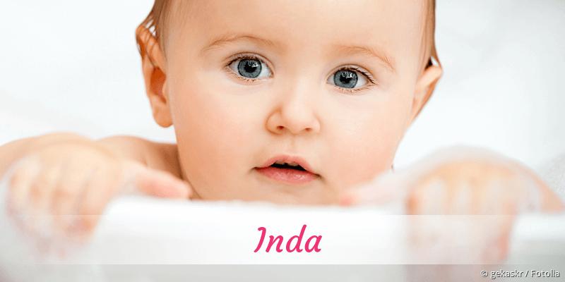Name Inda als Bild