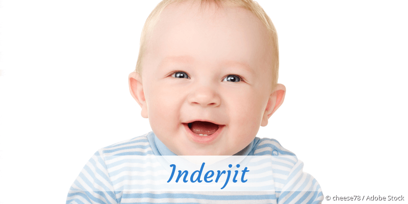 Name Inderjit als Bild