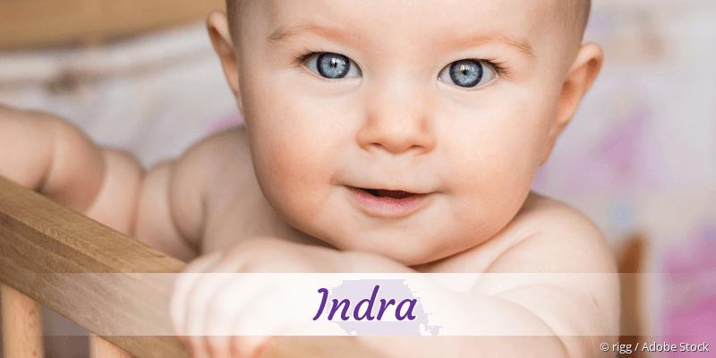 Name Indra als Bild