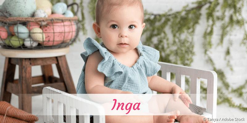 Name Inga als Bild