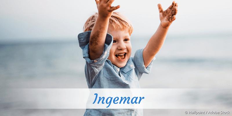 Name Ingemar als Bild