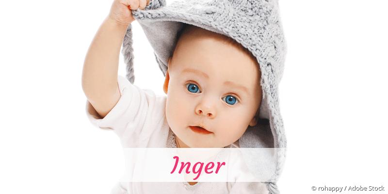 Name Inger als Bild