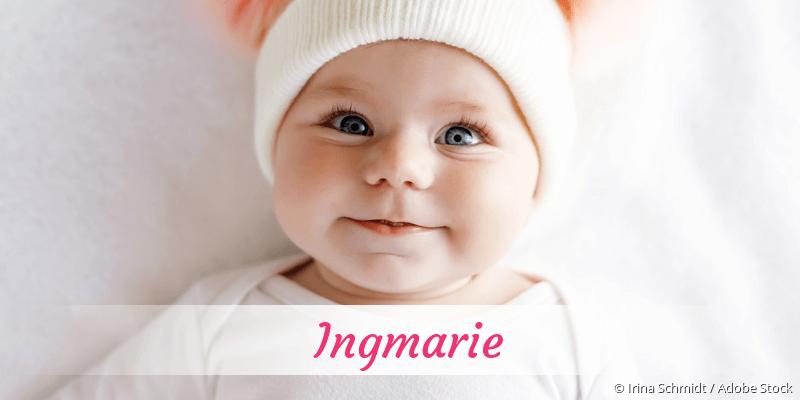 Name Ingmarie als Bild
