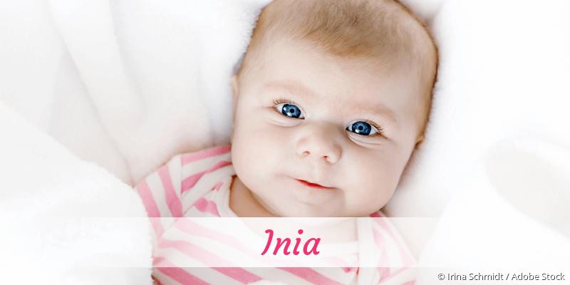Name Inia als Bild