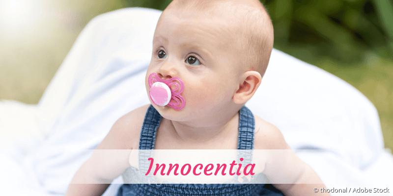 Name Innocentia als Bild
