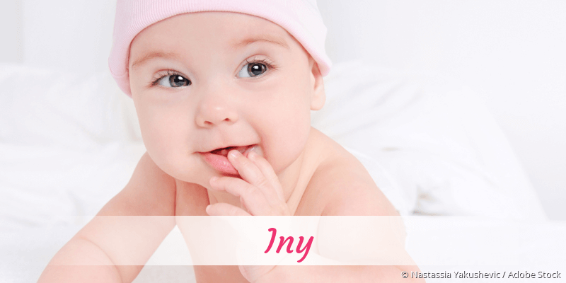 Name Iny als Bild