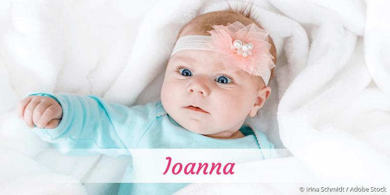 Name Ioanna als Bild