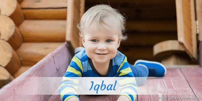 Name Iqbal als Bild