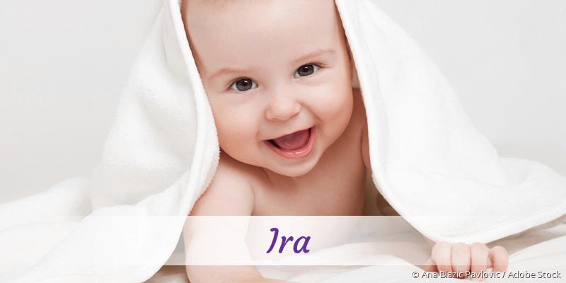 Name Ira als Bild