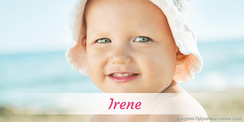 Name Irene als Bild