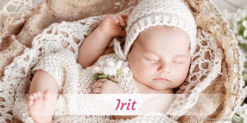 Name Irit als Bild