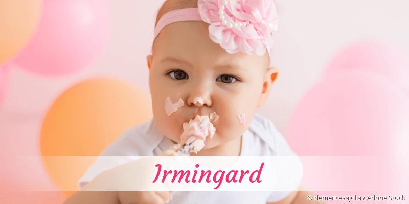 Name Irmingard als Bild