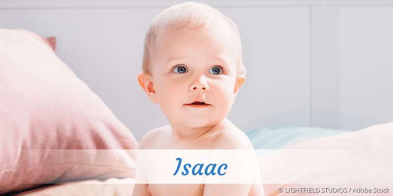 Name Isaac als Bild
