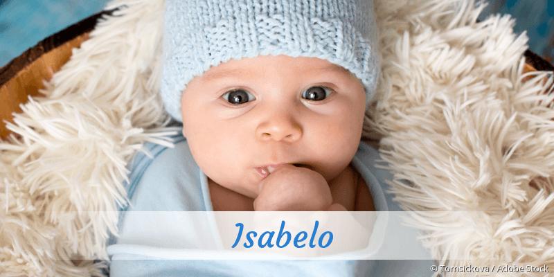Name Isabelo als Bild