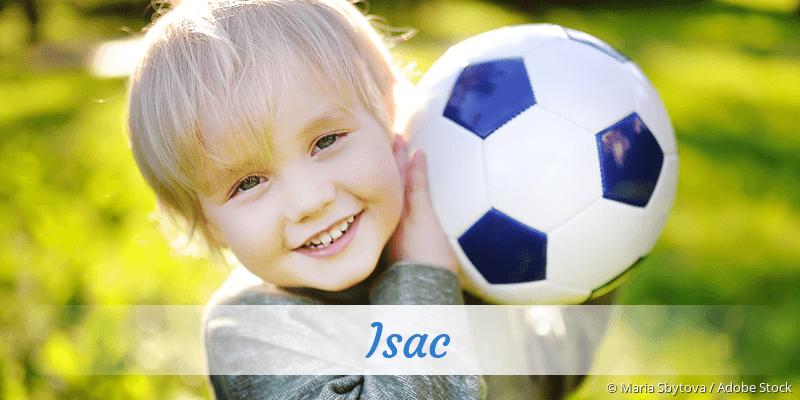 Name Isac als Bild