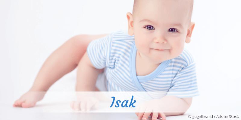 Name Isak als Bild