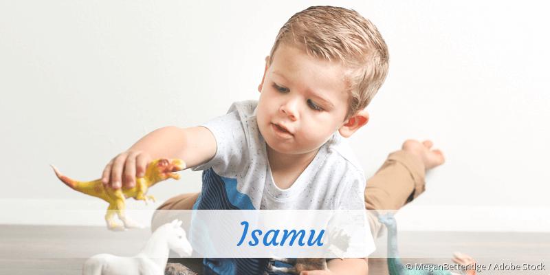 Name Isamu als Bild