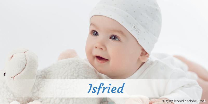 Name Isfried als Bild