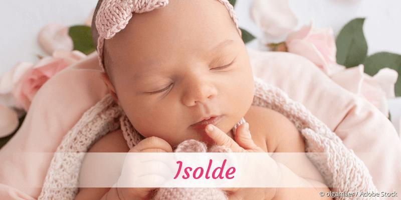 Name Isolde als Bild