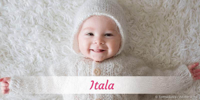 Name Itala als Bild