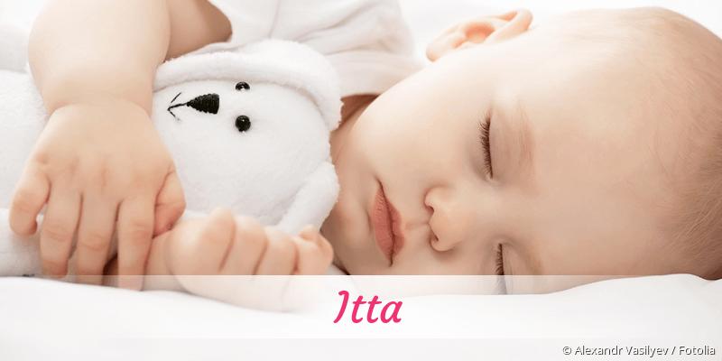 Name Itta als Bild